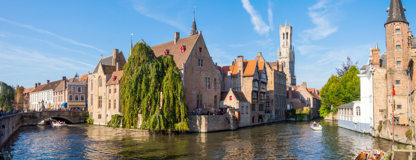 Family excursion in Bruges