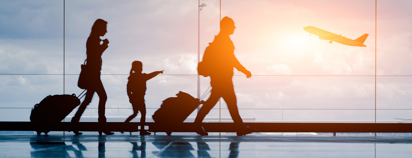 Tips for flying with the whole family