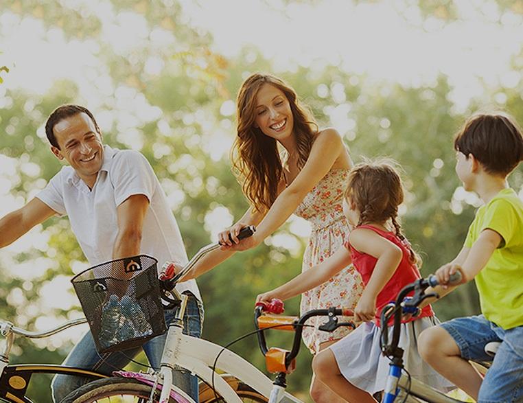 велосипед для всей семьи фото поздравлением ресторане обычном